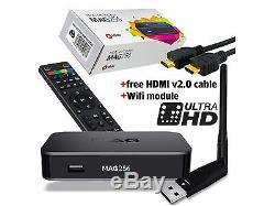 MAG 256 IPTV Set-Top-Box MAG256 by INFOMIR + WiFi Antenna same as MAG256 w1