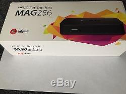 MAG 256 Infomir H. 265 HEVC Video Decoder MAG256 IPTV Set Top Box STB Streamer HD