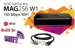 MAG 256 W1 Set-Top-Box MAG 256W1 with Built-in 150Mbps WIFI & HDMI Cable