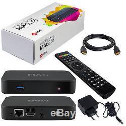 MAG 256 w2 WLAN WiFi 600M integriert onboard Streamer SET TOP BOX Internet IPTV+