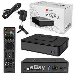 MAG 351 352 4K WLAN WiFi integriert DUAL BAND Streamer SET TOP BOX Internet IPTV