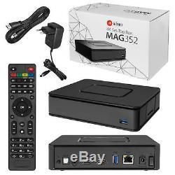 MAG 351/352 4K WLAN WiFi integriert onboard Streamer SET TOP BOX Internet IPTV