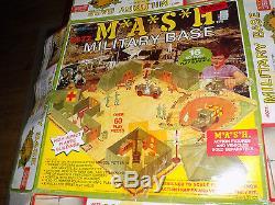 MASH Military Base Set with original Box Top