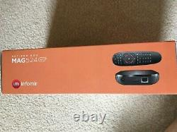 Mag524w3 A 4K CAPABLE LINUX SET-TOP BOX WITH HEVC SUPPORT
