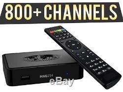 Mag 254w1 IPTV Set-Top Box Cable Box 1 Year Subscription Guaranteed infomer