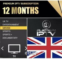 Mag 322/323 set top box 12 months Premium+