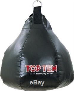 Maisbirne (schwarz/gefüllt) TOP TEN. Ca. 19Kg Boxen, Kickboxen, Muay Thai, MMA