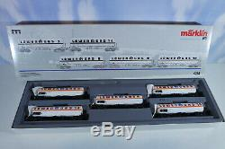 Märklin 4798 Tank Car Set, Unrecorded, Top Condition, Mint Condition Boxed