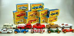 Matchbox Giftset G-4 Race'n'Rally Set 1968 top in rarer roter Mail Order Box