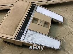 Mercedes Benz Oem W221 S550 S600 S63 Upper Roof Headliner Alcantara Suede A B C
