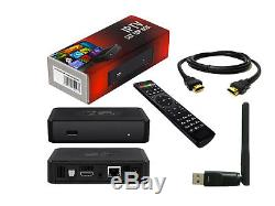 NEW MAG 254 IPTV Set Top Box MAG254 by INFOMIR + 150mbps WIFI ANTENNA Included
