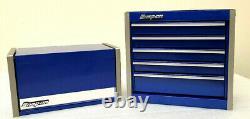 New Snap-On Royal Blue Micro Tool Box RARE TOP & BOTTOM SET MINI REPLICA JEWELRY