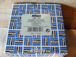 Nikon Set (5tlg) Nikon versch. Objektiv-Gegenlichtblenden Boxed TOP