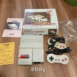 Nintendo New Famicom AV Top Loader Console Full set Boxed Japan
