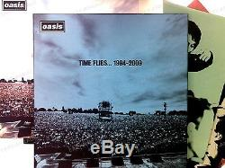 Oasis Time Flies. 1994-2009 UK 5LP Boxset 2010 + Booklet Top! Britpop //1