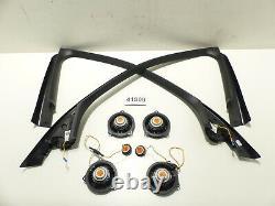 Original BMW 3er G20 G21 Set Abdeckung Fensterrahmen Lautsprecher Harman Kardon