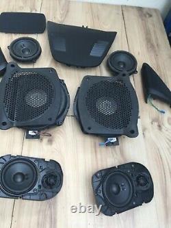 Original BMW 5er G30 G31 Set HiFi System Eckblenden Hochtone lautsprecher -K80