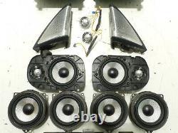 Original BMW G30 G31 Set HiFi System Bowers & Wilkins Eckblenden Lautsprecher