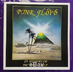PINK FLOYD IN MEMORIAM 1967-1981 R. I. P. 10 LP BOX SET 500 COPIES RARE Top Copy