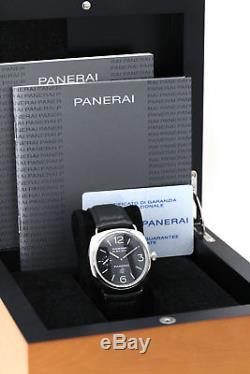 Panerai Radiomir Black Seal Logo PAM 00380 FULLSET Box & Papiere TOP Zustand