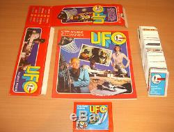 Panini Mega Set UFO Shado 1973 Leeralbum + alle Sticker + Tüte + Box TOP