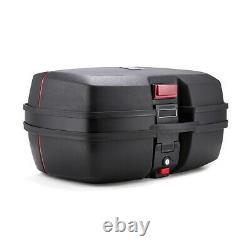 Panniers Set + Top Box for Benelli TRK 502 / X SCT8 black