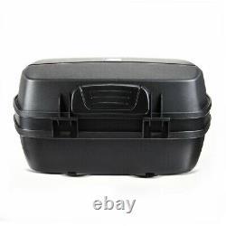 Panniers Set + Top Box for Suzuki Hayabusa SCT8 black
