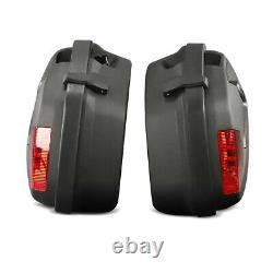 Panniers Set + Top Box for Yamaha XJ 600 N / S Diversion SCT6 black