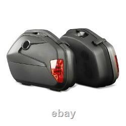 Panniers Set + Top Box for Yamaha XJ 900 F / S Diversion SCT8 black