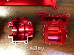 RARE Aluminum gear box top brace set for Team Associated RC18 18R 18B 18T
