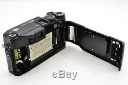 RARE Top Mint Contax G2 Black 35mm Film Camera with 45mm F2 Lens Set Boxed #1696