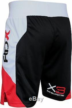 RDX Boxing Gym Vest & Shorts Set Suit MMA Muay Thai Mens Rash Guard Top CA