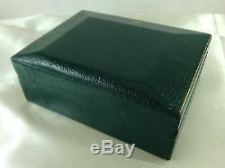 ROLEX Green Stripe & Raised Top BOX Set & Booklet for Submariner & More