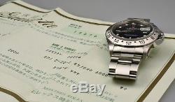 Rolex Explorer II 16570 A-Serie top unpoliert 2000 Box & Papieren Full Set