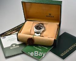 Rolex Explorer II 16570 Y-Serie top unpoliert 2003 Box & Papieren Full Set