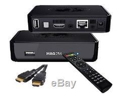 Russische, Deutsche TV ohne ABO MAG 254w1 WIFI IPTV SET TOP BOX Internet TV