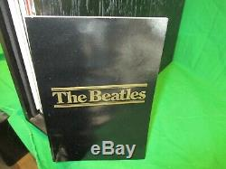 SEALED BEATLES WOODEN ROLL TOP BOX SET 14 LPs VERY RARE LIMITED EDITION 1988