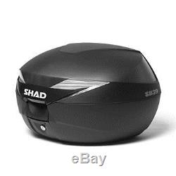SHAD Yamaha MT-09 2013 Top Luggage Set. Including SH39 Top Box and Fitting Kit