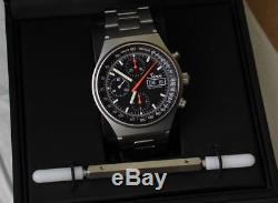 SINN 144 Automatik Chronograph FULL SET BOX & PAPIERE VALJOUX 7750 TOP ZUSTAND
