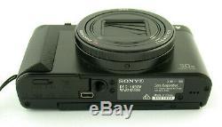 SONY Cybershot DSC-HX90V premium Zeiss 30x Zoom 4K 18,2MP top boxed OVP set /19