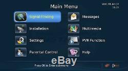 SatKing DVBS2-980CA Vast TV Satellite Receiver Twin Tuner Set Top Box PVR