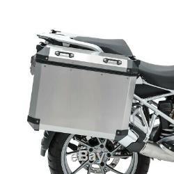Set Alu Koffer für BMW R 1200 GS 13-18 + Kofferträger ADX90
