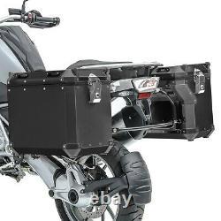 Set Alu Koffer für BMW R 1200 GS Adventure 14-18 + Kofferträger ADX90B