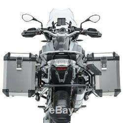 Set Alu Koffer für BMW R 1200 GS Adventure 14-18 + Kofferträger ADX90