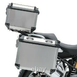 Set Alu Panniers + Top Box + Rack for BMW R 1200 GS 13-18 ADX110