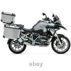 Set Alu Panniers+ Top Box+ Rack for BMW R 1250 GS Adventure 19-21 Bagtecs ADX130