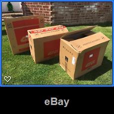 Set of Givi Trekker boxes- 52L Top Box, 33L & 46L Panniers