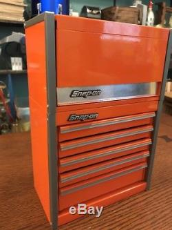 Snap On Electric Orange Mini Top And Bottom Set Roll Cab
