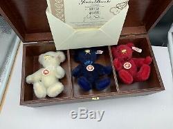 Steiff Tier 669668 Jewelry Set Box. Top Zustand