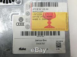 Steuergerät Digital Analog Wandler Settop Box TV-Empfang DVB-T für Touareg 7L